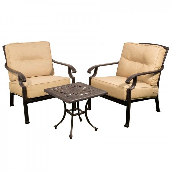 This 2 seat garden metal lounge set is from The Gregg Wallace fire ...