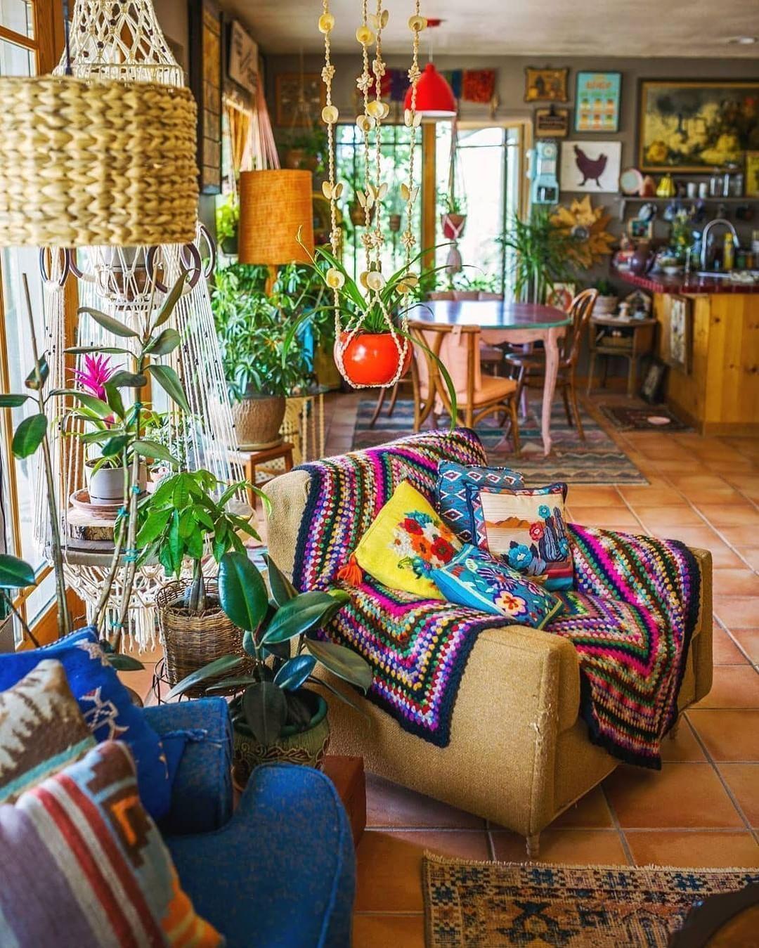 25 Boho Style Home Decor Ideas Jessedaro Vintage Home Decor Decor Room Decor