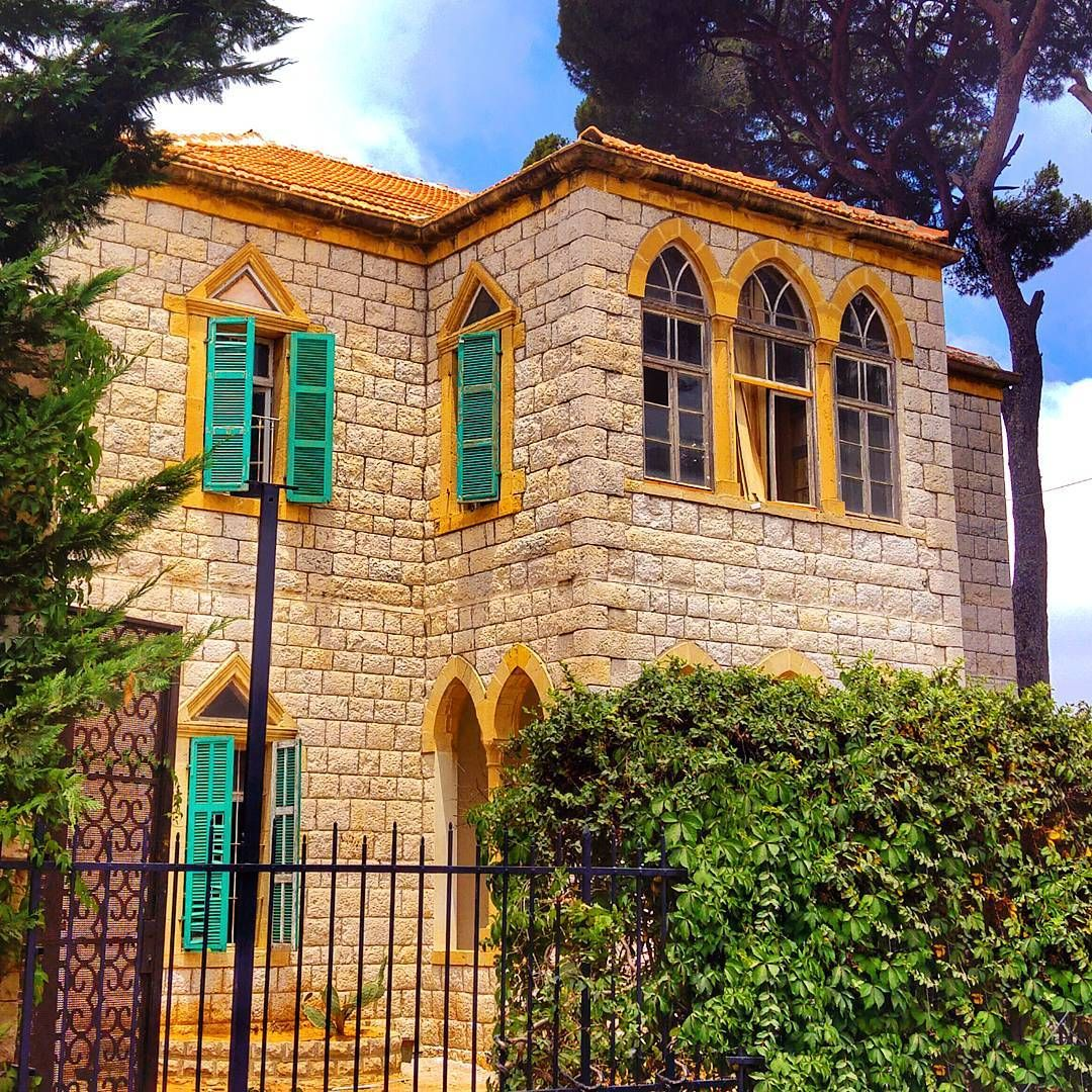 """""""Traditional lebanese house Broumana 