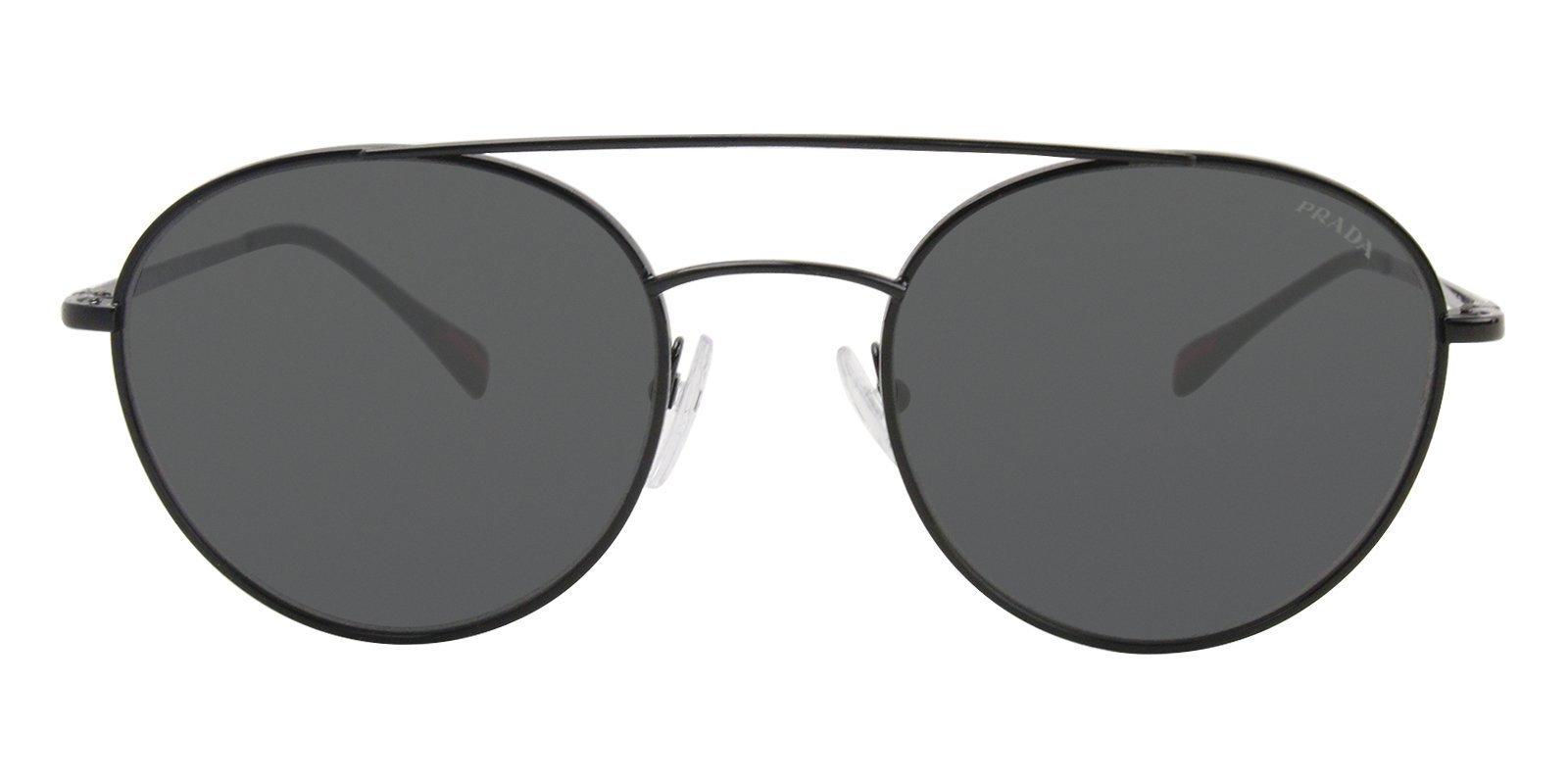 1624fa0c2437 Prada Sport SPS515 Black   Gray Lens Sunglasses – shadesdaddy