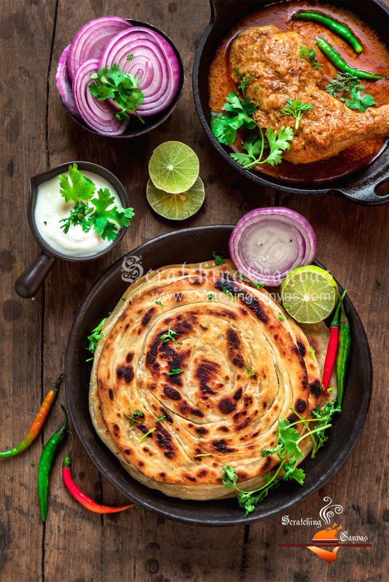 lachha paratha recipe quick easy recipe paratha recipes indian food recipes food recipes on hebbar s kitchen recipes laccha paratha id=29640