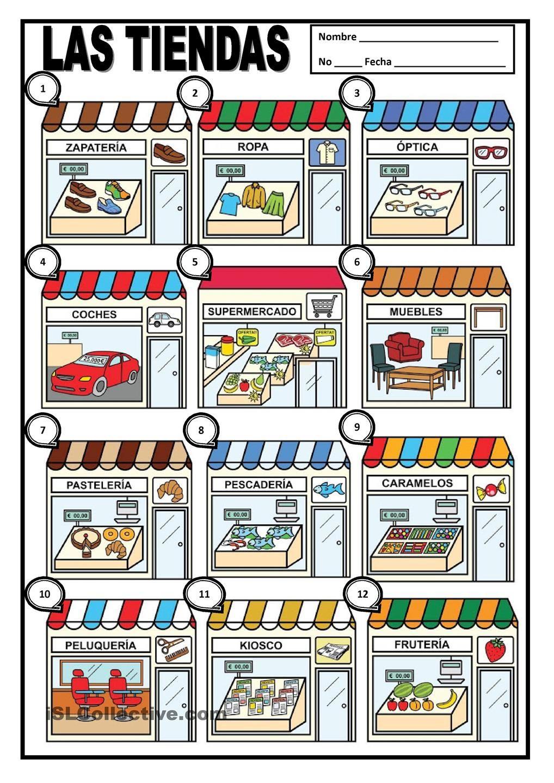 Las Tiendas Recursos De Ensenanza De Espanol Tiendas Aprender Espanol