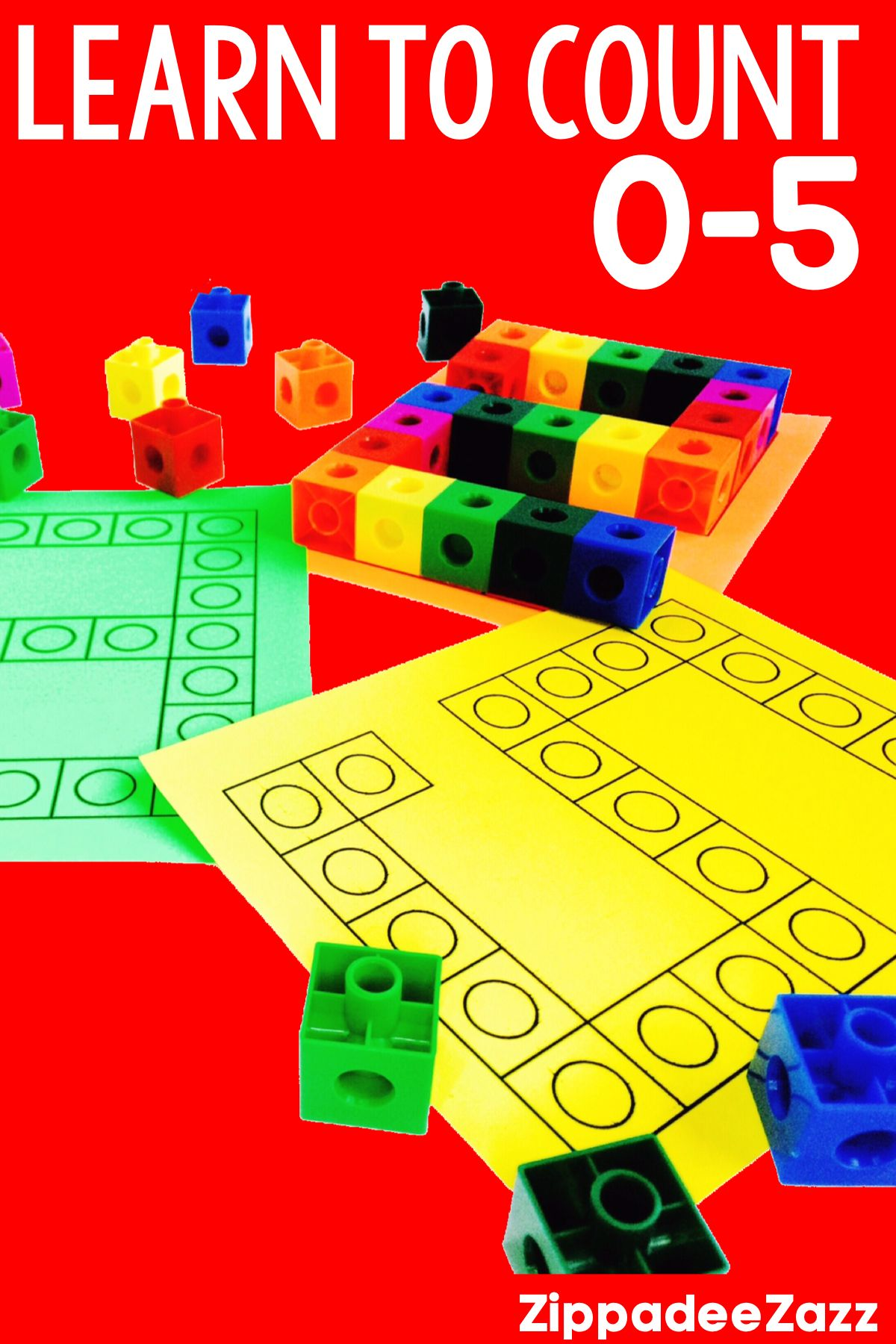 Snap Cube Counting Worksheet Counting