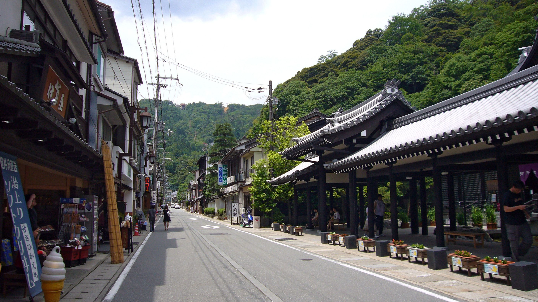 Kinosaki Onsen Toyooka city Hyogo district Kansai