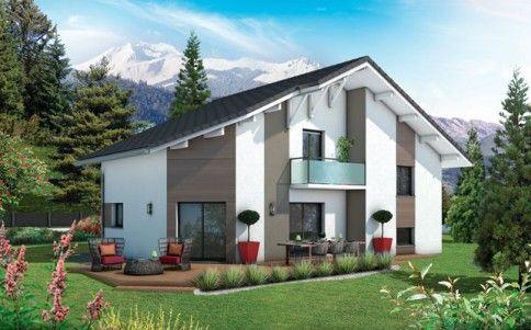 Maison moderne Bauges - plan maison gratuit Projet de construction