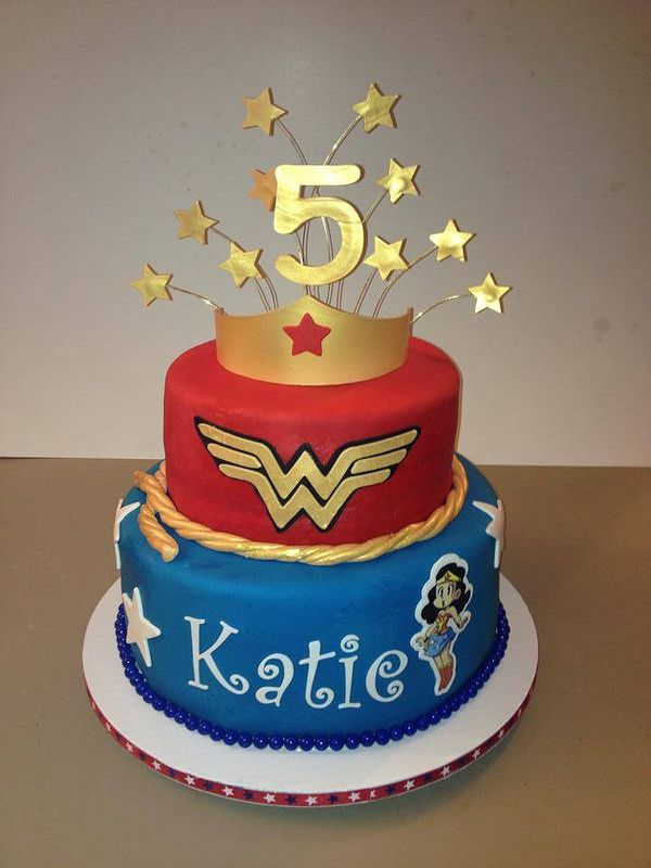 Wonder Woman Birthday Birthday Cakes Pinterest Wonder Woman