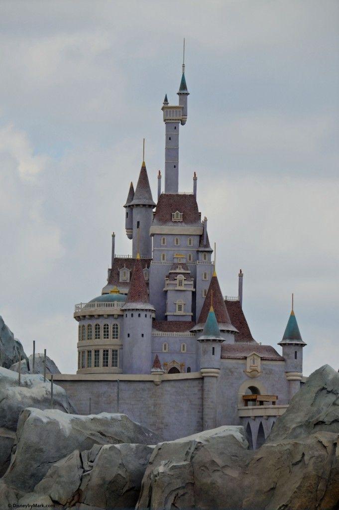 beast 39 s castle at the new fantasyland walt disney world 39 s magic kingdom disney disney disney. Black Bedroom Furniture Sets. Home Design Ideas