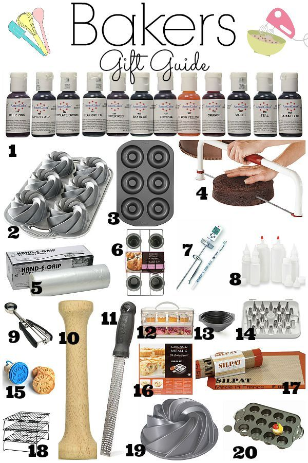 Every Baker Who Loves Baking Needs And Wants All This Helpful Fun Items Bakers Gift Guide Is A Must Have If You Pion For
