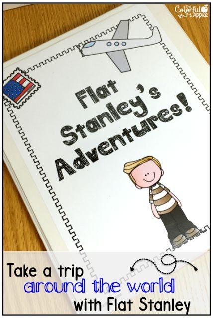 Flat Stanley A Novel Study  Project Flat stanley, Organizing and