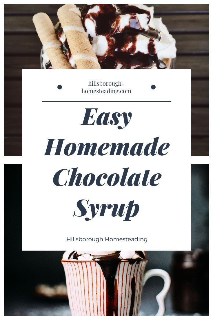 Easy Homemade Chocolate Syrup This easy homemade chocolate syrup recipe has a dozen uses Its perfect for brownies cakes for pancakes or next to any dessert And its health...