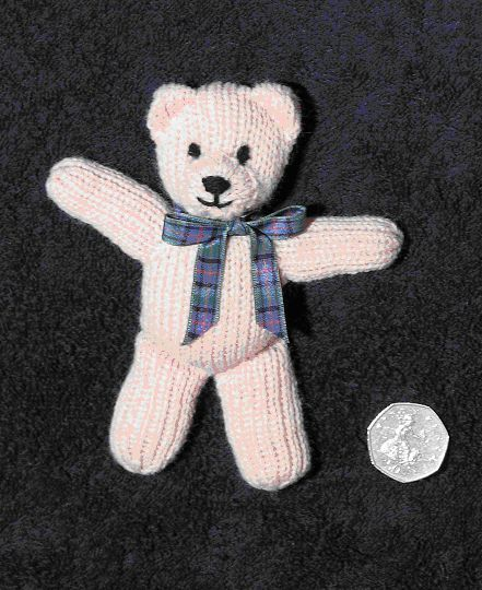 First teddy Pattern (With images) | Knitting bear, Teddy ...