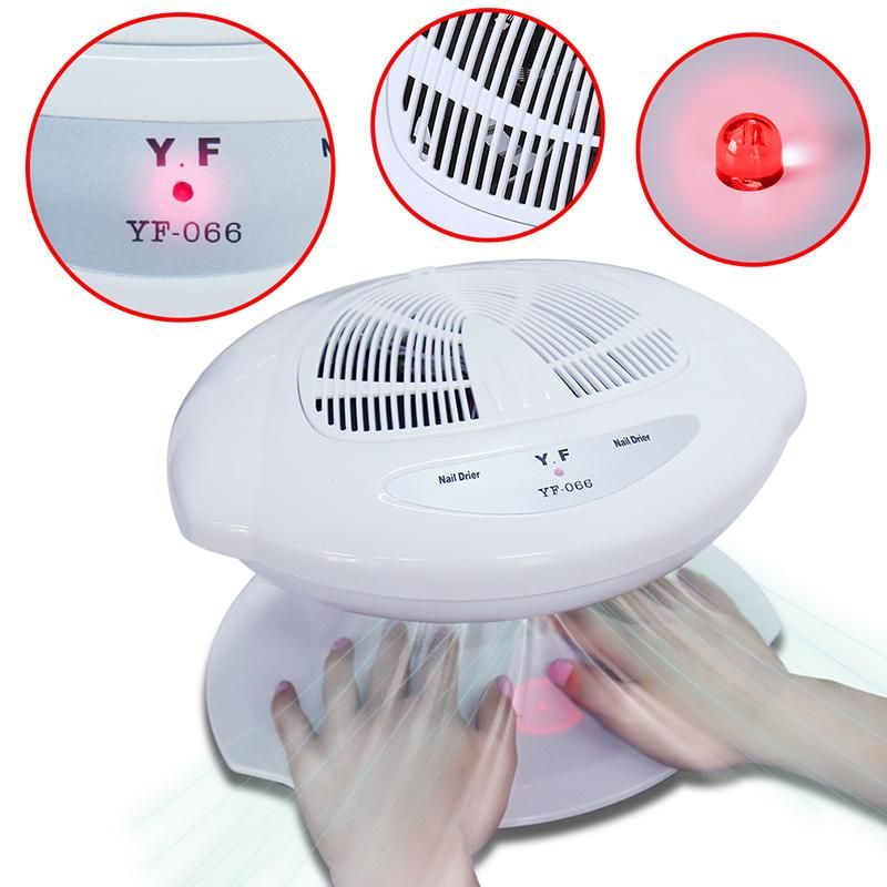 Beau Gel Smart Nail Polish Dryer Nail Air Dryer Fan Auto Induction ...