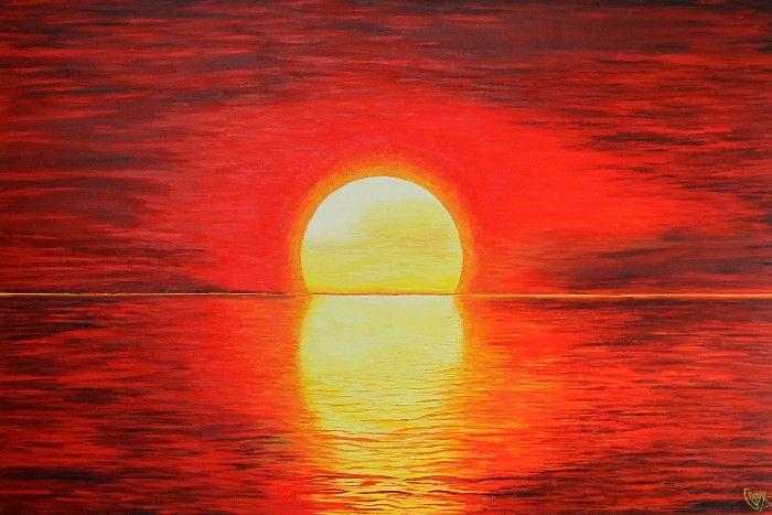 r sultats de recherche d 39 images pour toile de peinture facile a faire coucher du soleil. Black Bedroom Furniture Sets. Home Design Ideas