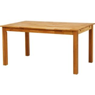 Buy Oxford Solid Oak Extendable Dining Table At Argoscouk
