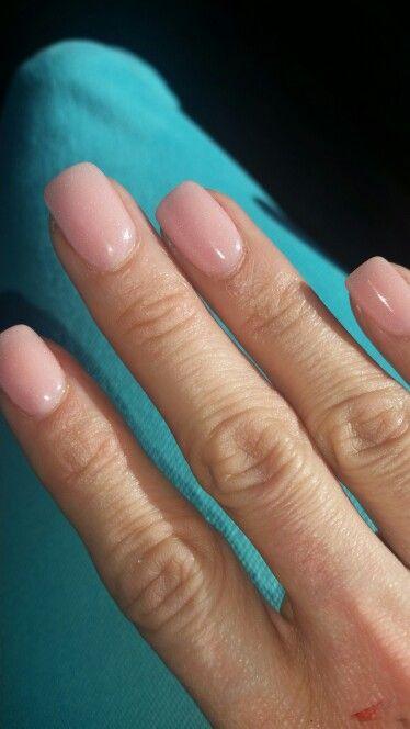 Sns 40 Very Natural Pink Sns Nails Colors Powder Nails Sns Nails