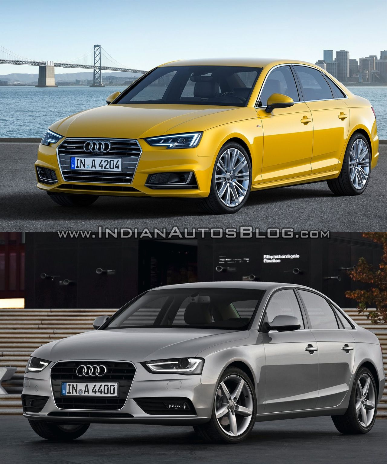 2016 audi a4 b9 vs 2013 audi a4 b8 old vs new cars. Black Bedroom Furniture Sets. Home Design Ideas
