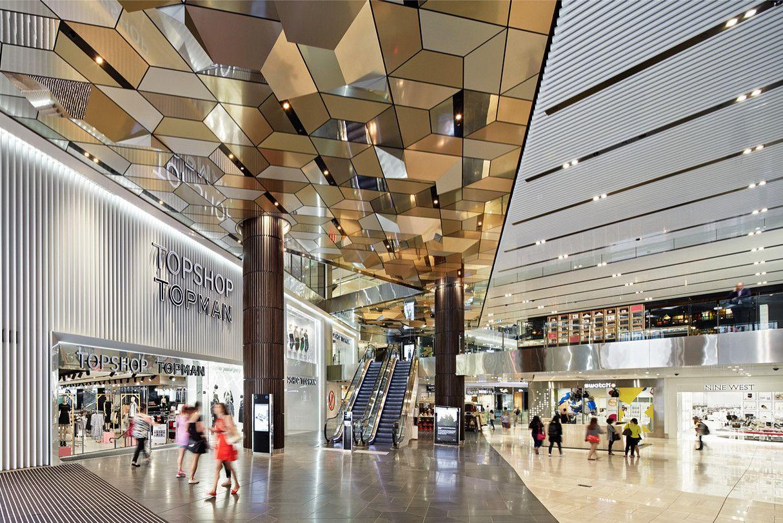 オーストラリア・メルボルンの中心地に新装したショッピングセンターの環境デザイン。多民族文化が息づき、豊かな自然に