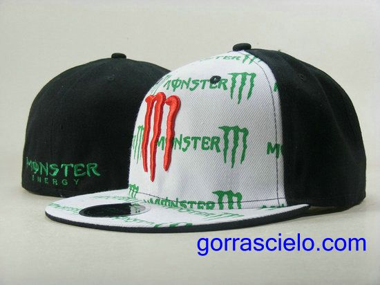 1bd8a59c94101 Comprar Baratas Gorras Monster Energy Fitted 0090 Online Tienda En Spain.