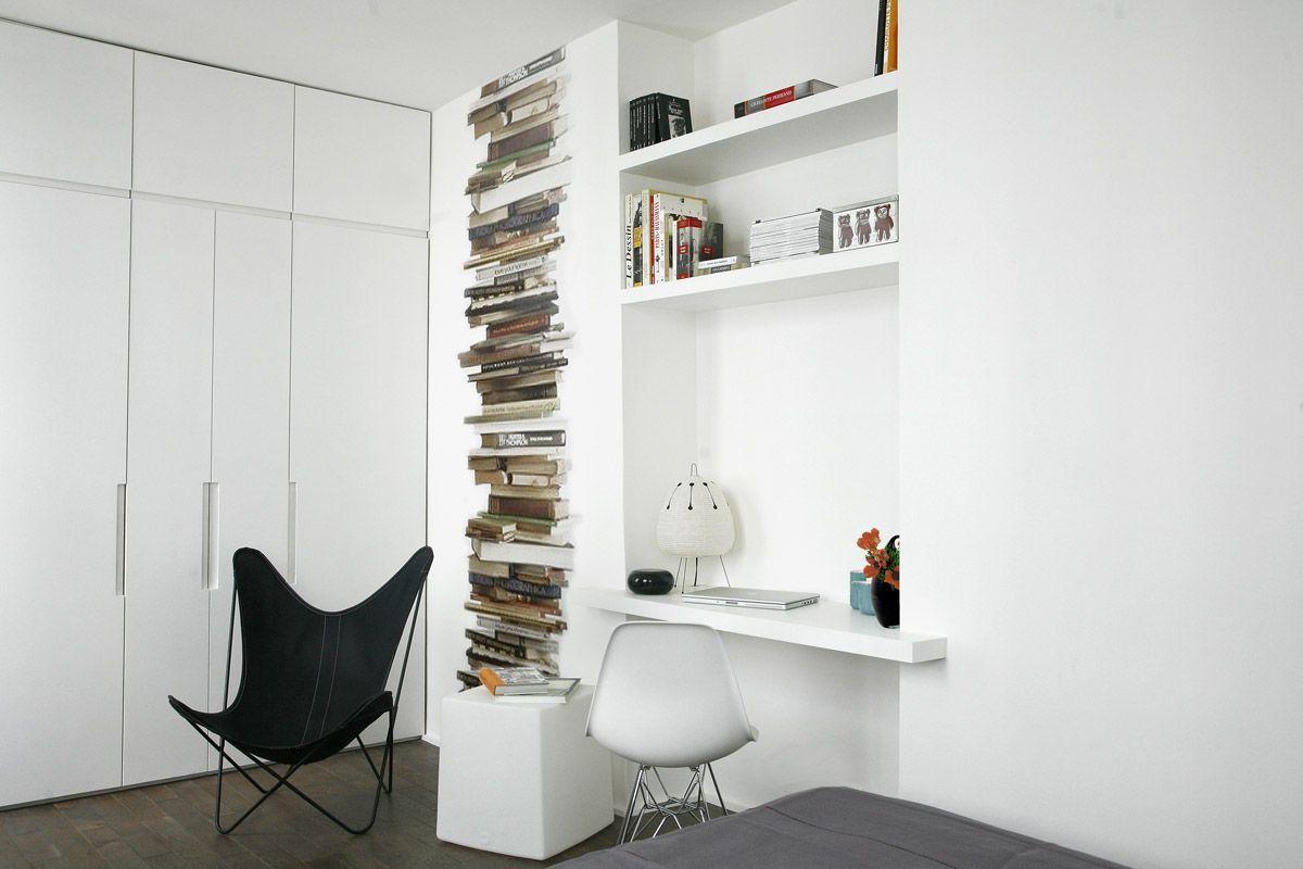 Monoambientes Modernos Maximizar El Espacio Con Estilo  # Muebles Separadores Para Monoambientes