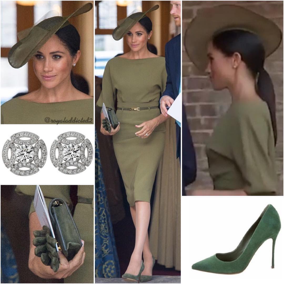Duchess Of Sussex Style! Dress: Ralph Lauren; Shoes