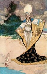 Beder and Giauhara - The Arabian Nights published by Blackie & Sons Limited (London) in 1930