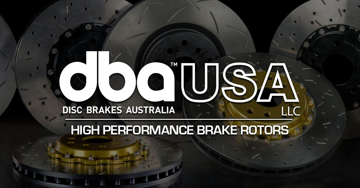 Brake later when you have dba usa on your car see what