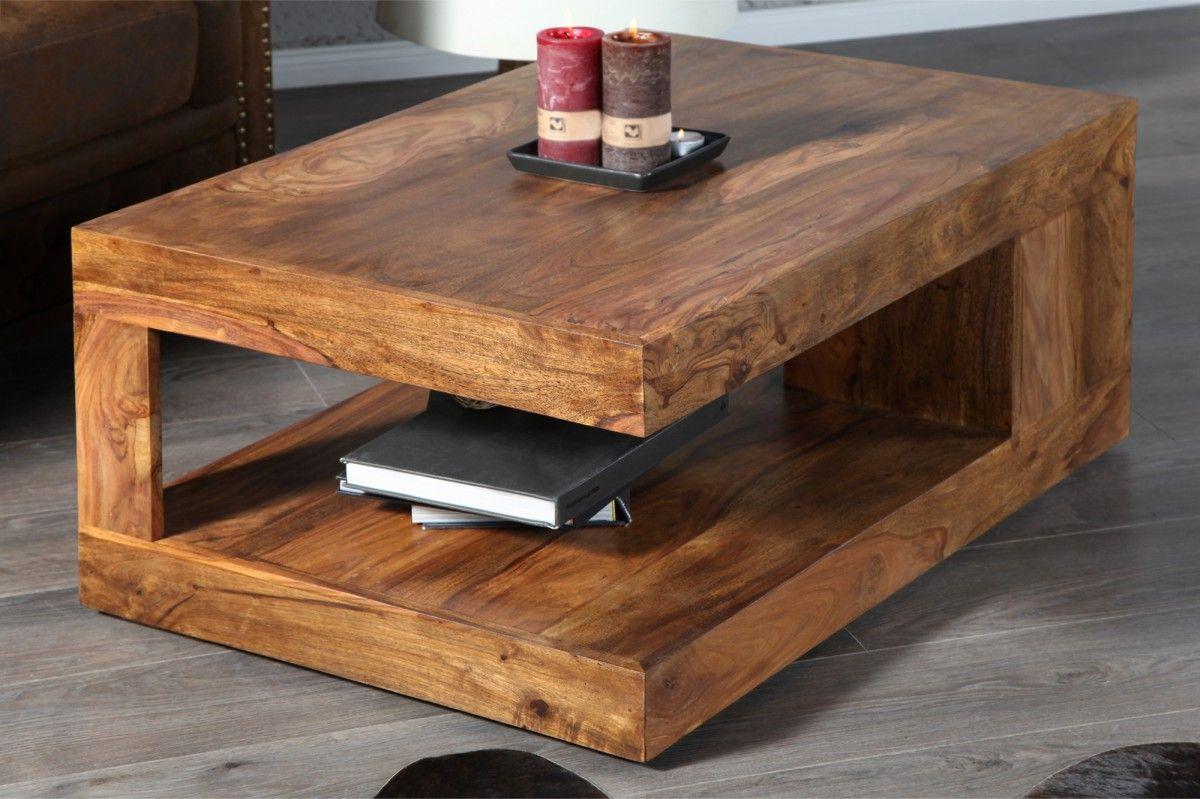 Couchtisch Beistelltisch BALI Palisander Massiv Die Aus Massivholzplatten Verleimten Couch Beistelltische Sind Mit Ihrer Schnsten Holzmaserung Des Sheesham