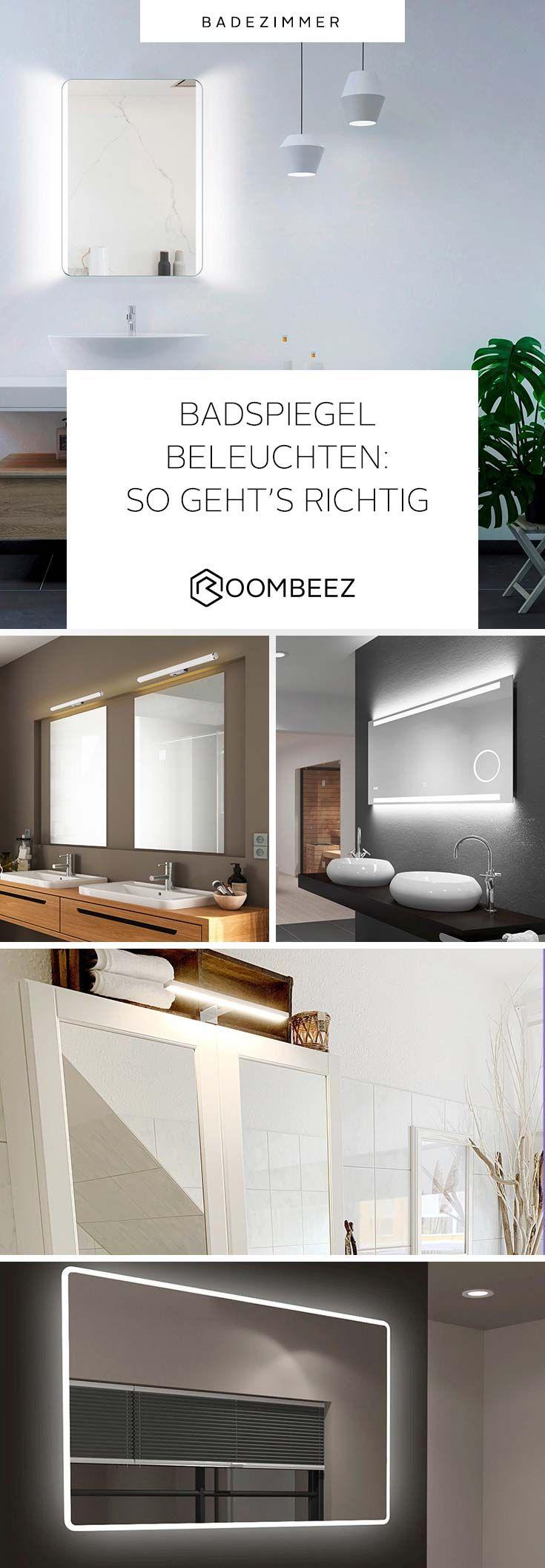 Spiegelbeleuchtung Im Bad Ideales Licht Zum Schminken Otto In 2020 Spiegel Mit Beleuchtung Beleuchtung Badspiegel Beleuchtet
