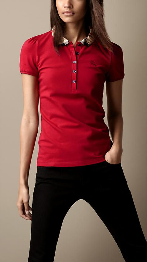 POLO SHIRT  Wear a size smaller than normal with jeans and an of-the-moment  jacket. 6264647c3f0