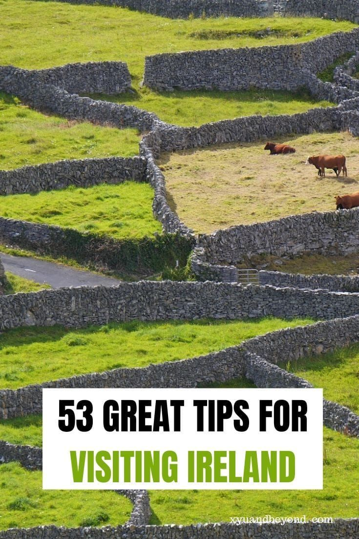 Ireland Travel Tips - what you need to know before visiting Ireland for first-time visitors. When's the best time to visit Ireland? What's the weather like? #Ireland #visitIreland Ireland #style #shopping #styles #outfit #pretty #girl #girls #beauty #beautiful #me #cute #stylish #photooftheday #swag #dress #shoes #diy #design #fashion #Travel