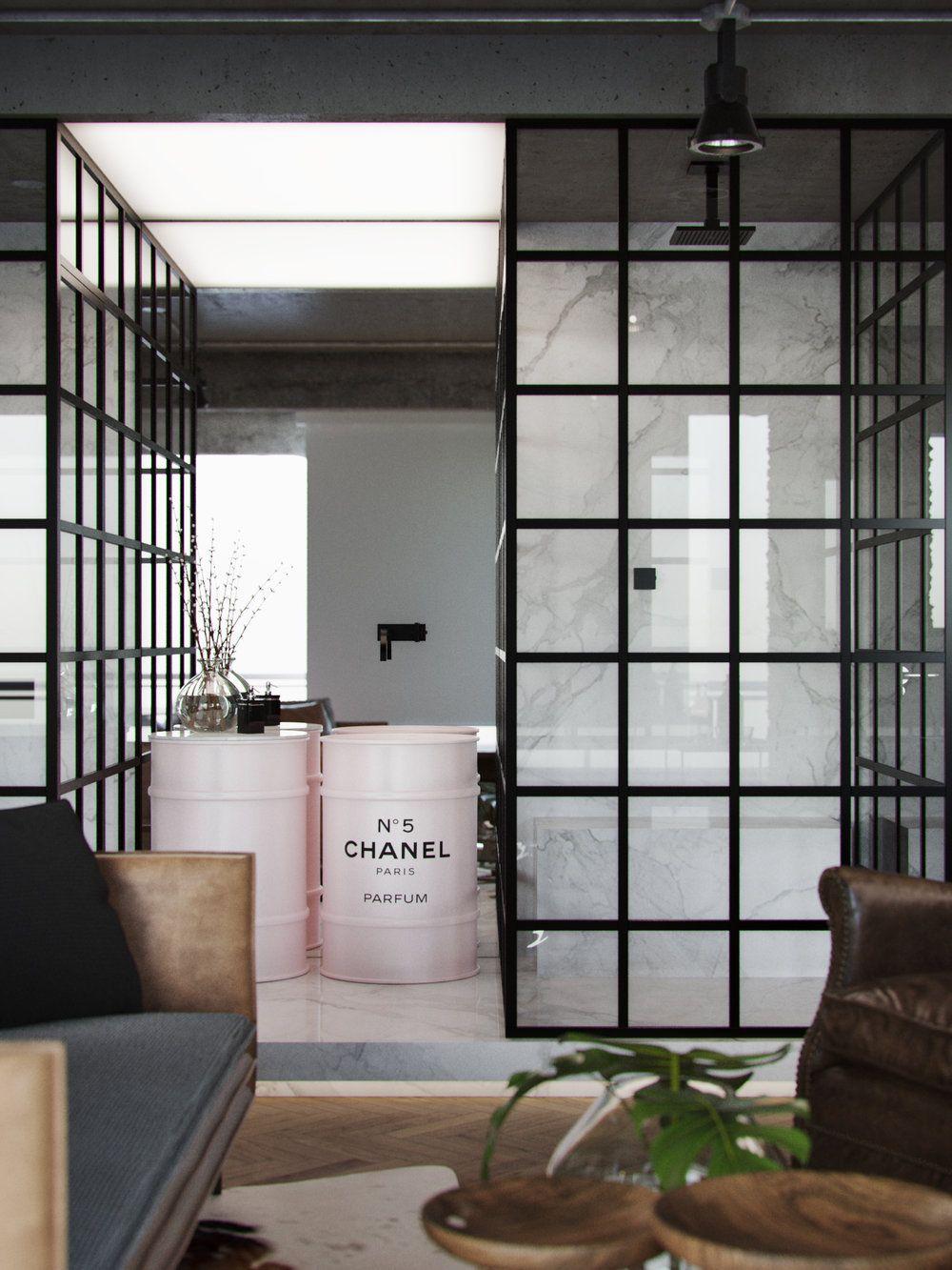 Un piso en brasil con sabor a nueva york industrial pinterest en brasil pisos en y nueva - Pisos en new york ...