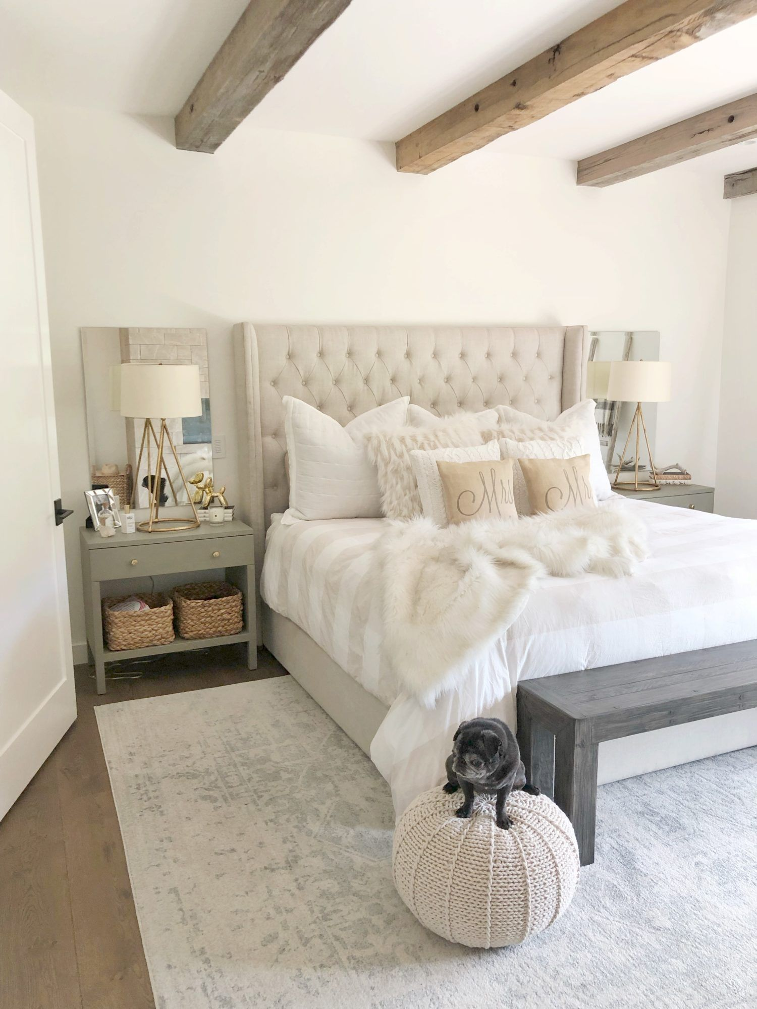 Modern Farmhouse Bedroom   SBK LIving