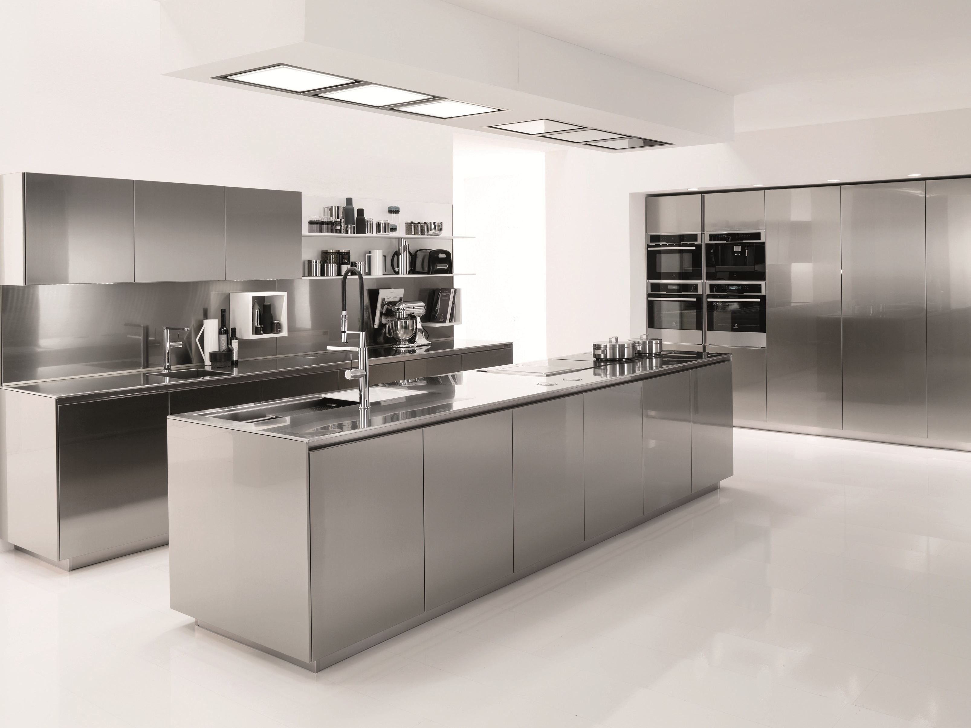 Stainless Steel Kitchens How To Choose The Perfect Kitchen Countertop  Steel Stainless