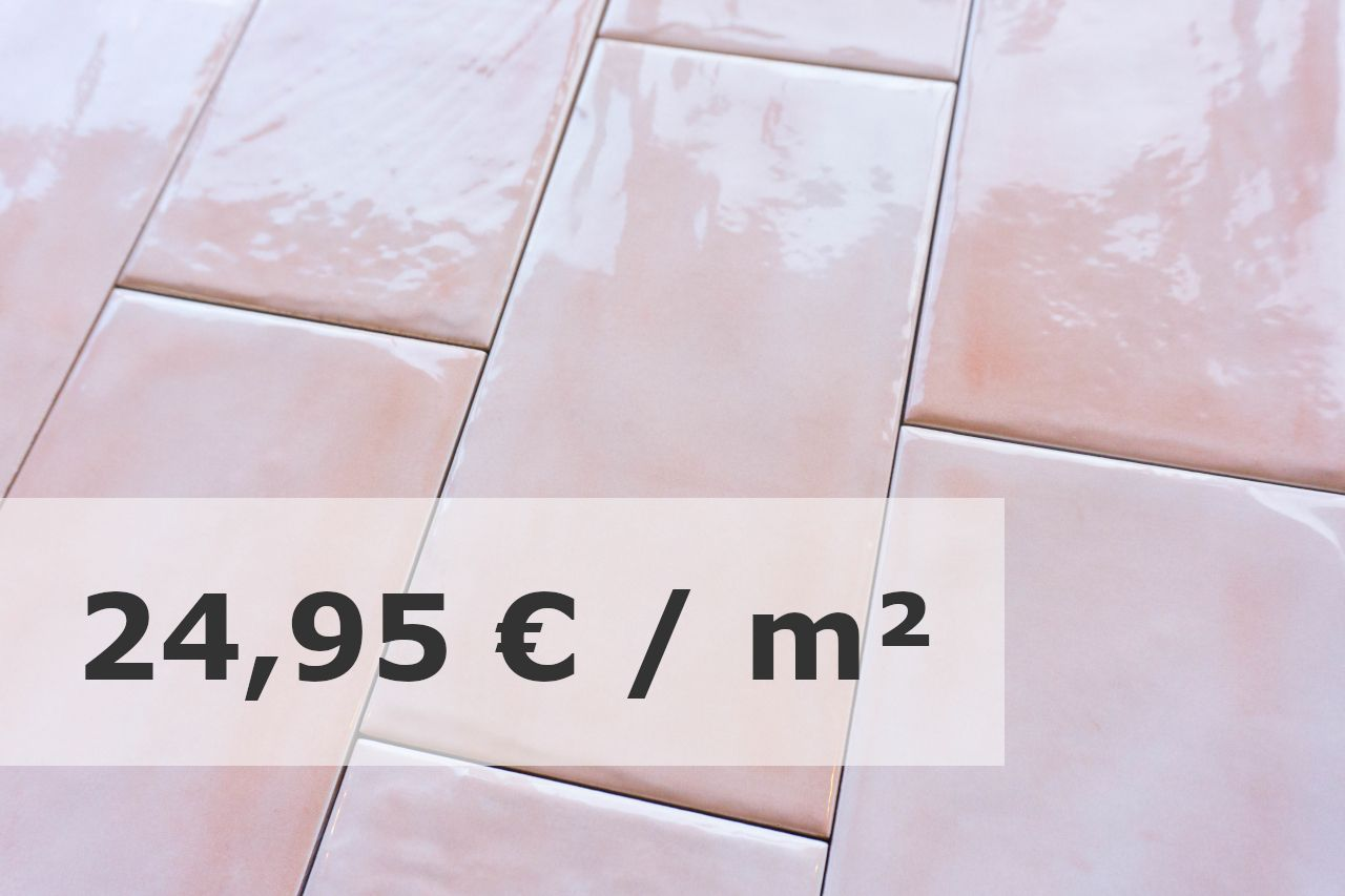 Metro Fliese Koralle Gewellt 10x20 Diefliesen Com In 2020 Fliesen Wandfliesen Metro Fliesen