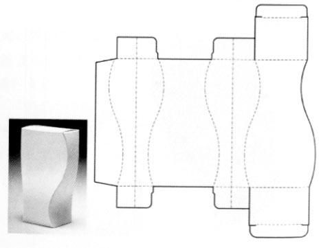 Posts about Carton Structure Design on Corrugated and folding carton box templates  sc 1 st  Pinterest : folding box design - Aboutintivar.Com