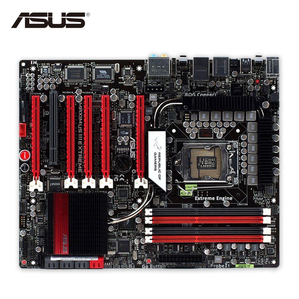 Asus Maximus Iii Extreme Desktop Motherboard M3e P55 Lga 1156 I3 I5 Mainboard H61 Soket 1155 I7 Ddr3 16g Sata3