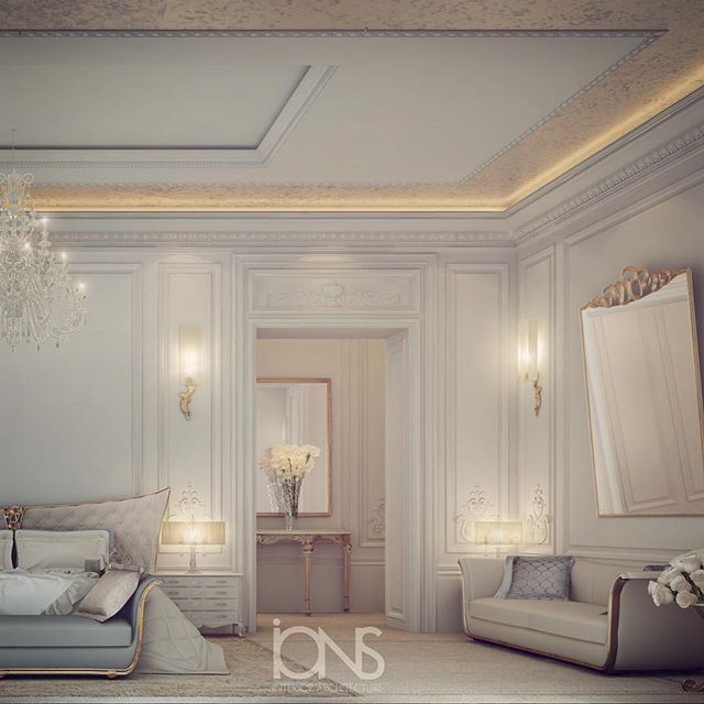 Master Bedroom Design • Private Palace