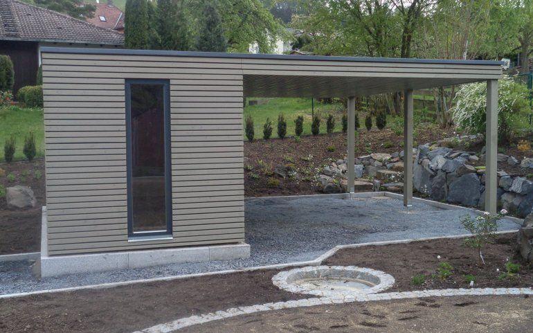 Modernes Gartenschuppen In 2020 Gartenschuppen Gartenhaus Haus