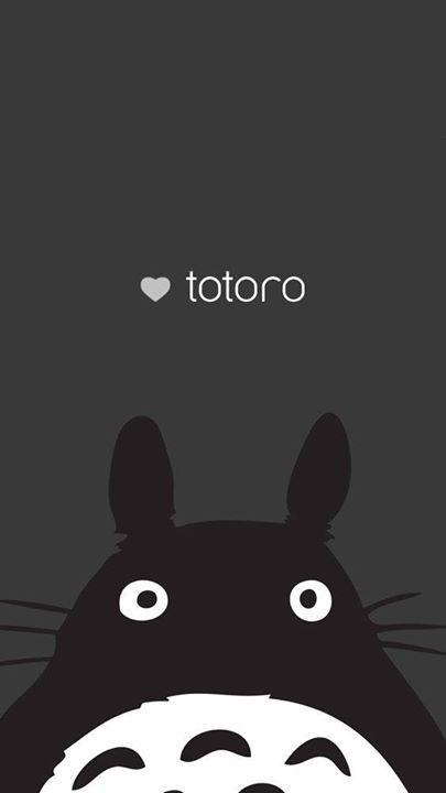Totoro minimalist poster fondos lindos4 Pinterest Anime toys - k amp uuml che aus paletten