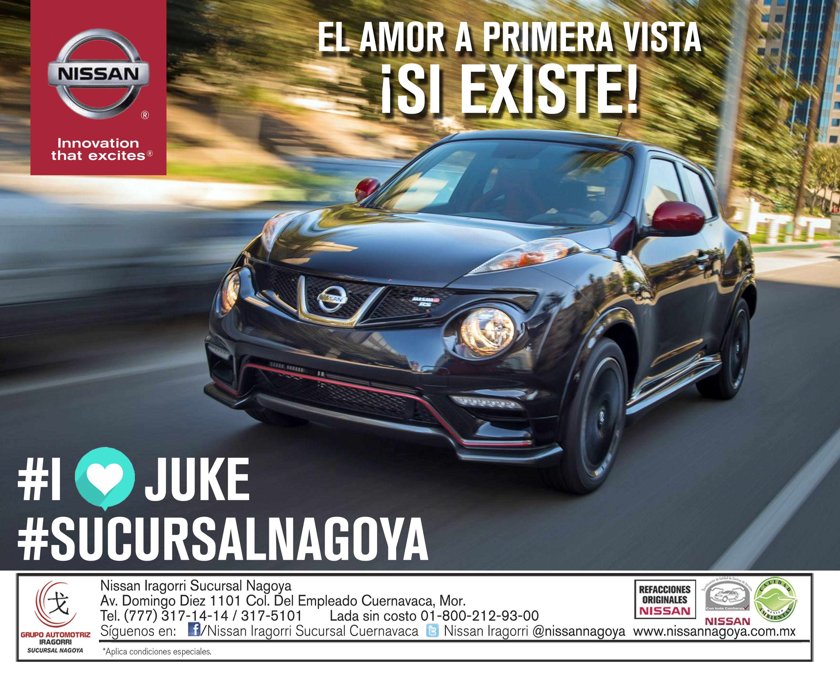 Nissan JUKE. Disponible en #SucursalNagoya Cuernavaca.
