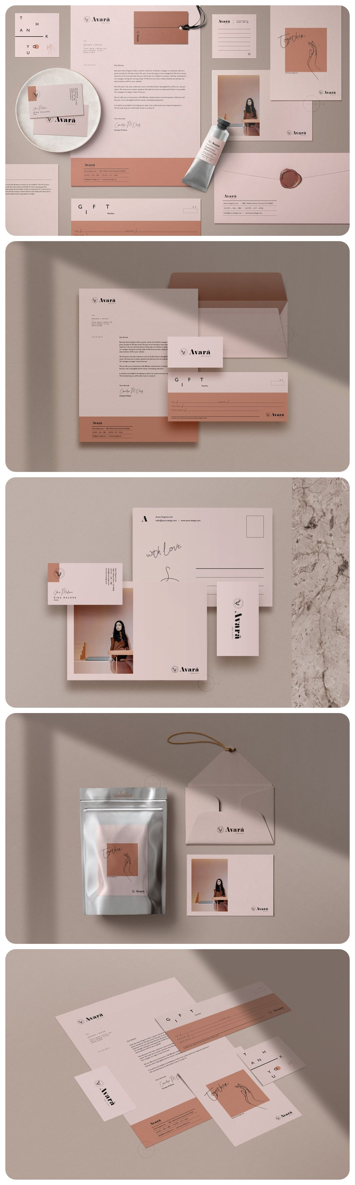 Brand Stationery Pack • Avarä (With images) Stationery
