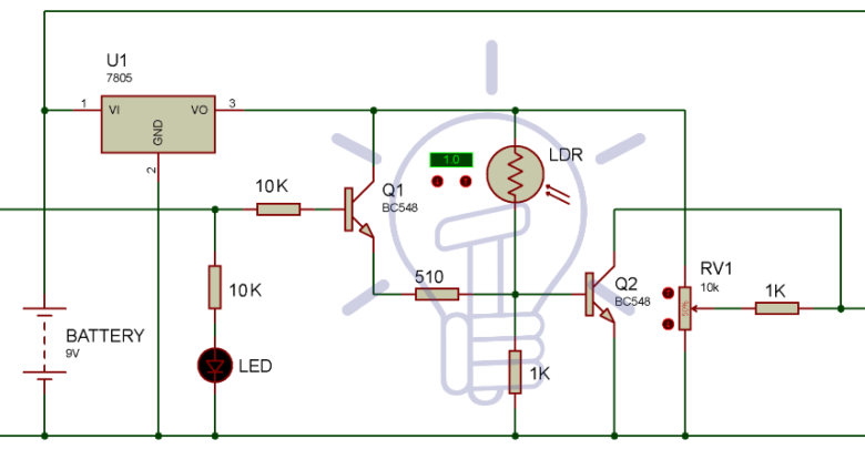 Automatic Led Emergency Light Circuit  With Images