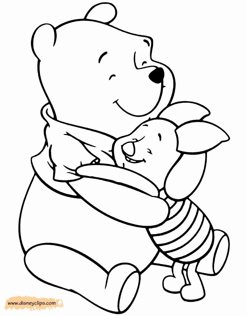 Winnie The Pooh Coloring Book Elegant Winnie The Pooh Friends Coloring Pages In 2020 Coloring Books Coloring Pages Precious Moments Coloring Pages