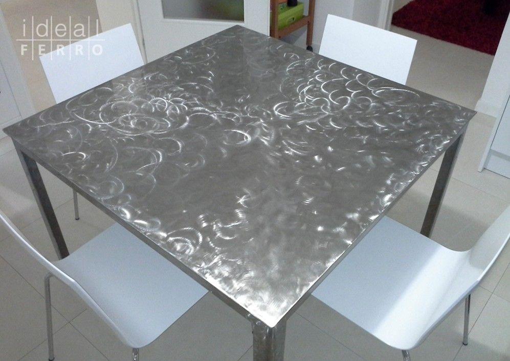 Tavolo in acciaio inox verniciato tavoli di ns produzione