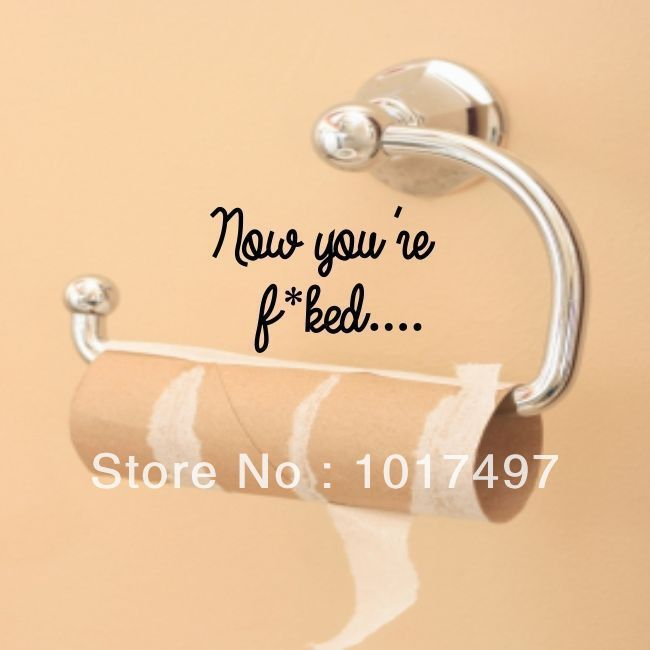 Toilet Sticker Promotion-Online Shopping for Promotional Toilet ...