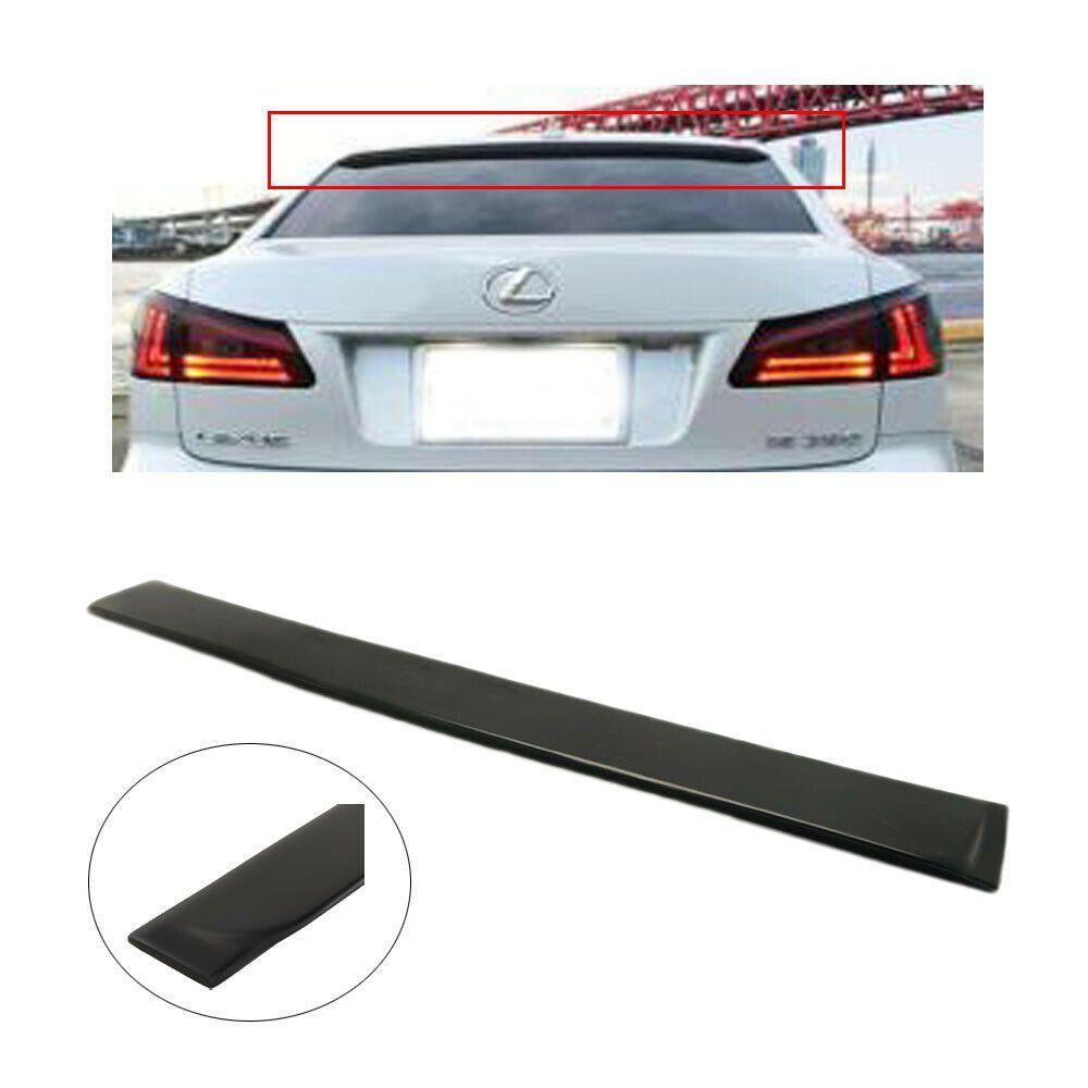 Sponsored Ebay For 06 13 Lexus Is250 Is350 Jdm Rear Window Abs Roof Wing Spoiler Visor Black Lexus Is250 Rear Window Lexus