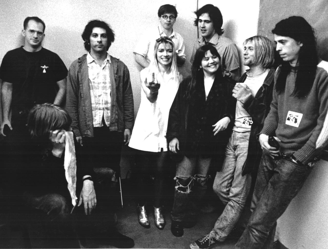 Image result for nirvana sonic youth