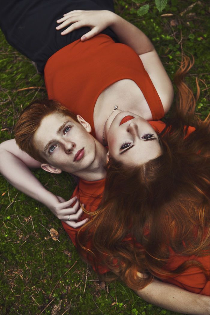 Redhead Calendar: We Shot Redhead People & Animals To Show Their Unique Beauty – Coverr
