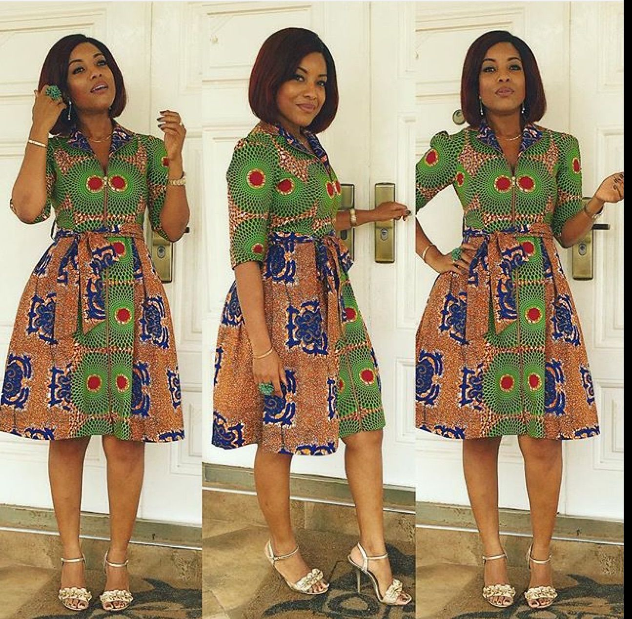 Joselyn Dumas is Dishing Out Trending Ankara Types…..Checkout her LookBook