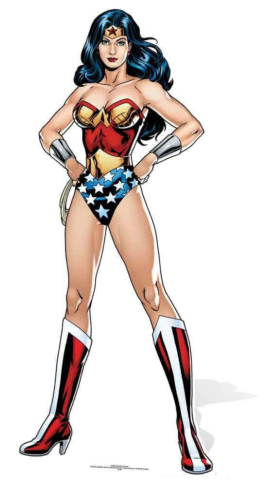 WALL DECOR ART PRINT POSTER DC Comics Wonder Woman Bombshell  GIFT A3 Size
